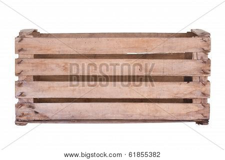 Old Used Wooden Box