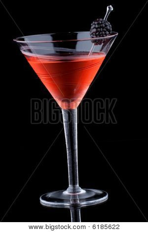 Black Martini - Most Popular Cocktails Series