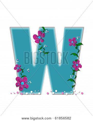 Alphabet Fairy Tale Garden W