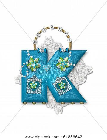 Alphabet Bling Bag K