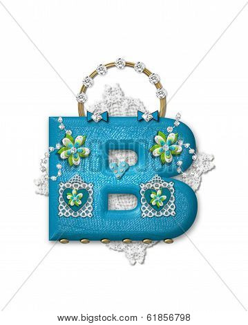 Alphabet Bling Bag B