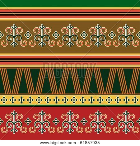 Traditional northern ornament