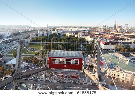 Panorama Of The City Of Vienna