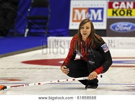 Curling Women Canada Rachel Homan Skips