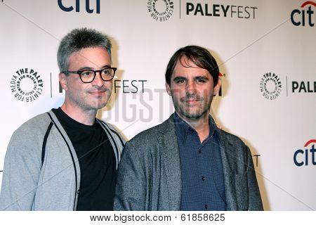 LOS ANGELES - MAR 19:  Alex Kurtzman, Roberto Orci at the PaleyFEST -