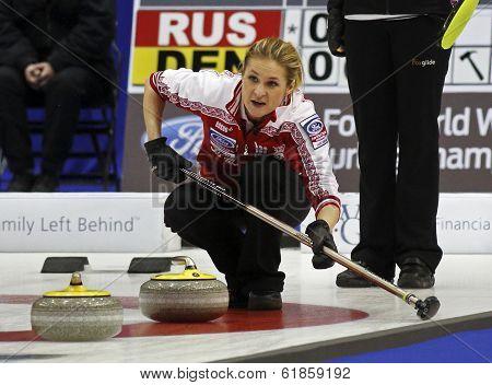 Curling Women Russia Rocks House Fomina