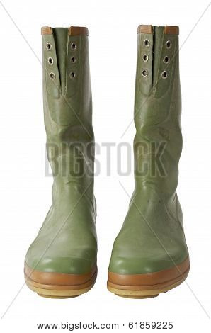 Galoshes With Clipping Path
