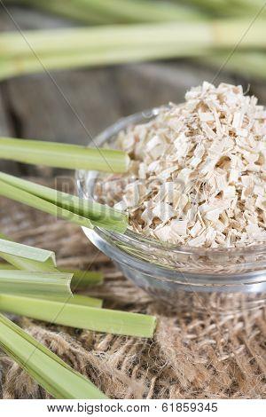 Portion Of Dried Lemon Grass