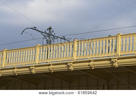 Bridge Detail With Sky
