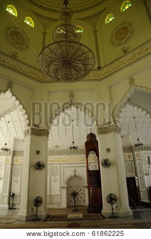 Main Prayer Hall of Kapitan Keling Mosque