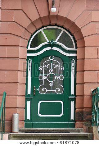 Entrance Door,