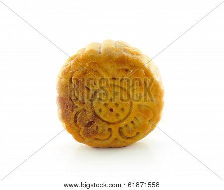 Mooncakes On White Background