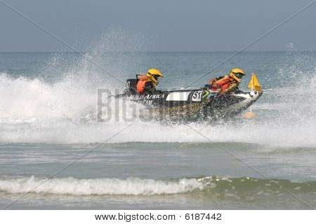 Inflatable Boat Race