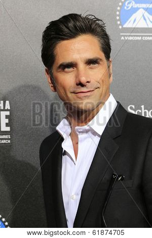 LOS ANGELES - MAR 20: John Stamos at the 2nd Annual Rebels With A Cause Gala at Paramount Studios on  March 20, 2014 in Los Angeles, California