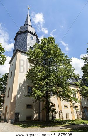 Famous Jacobs Church In Weimar