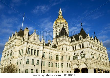 State capitol in Hartford, CT
