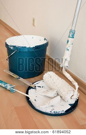 Tools of a painter