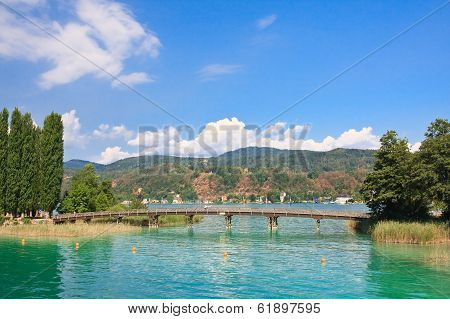 Resort Portschach Am Worthersee And Lake Worth (worthersee). Austria