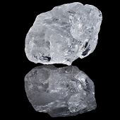 pic of quartz  - single white transparent Quartz - JPG
