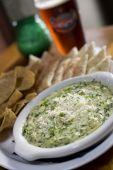 Artichoke Dip With Tortilla Chips