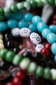 stock photo of prayer beads  - a Close Up Of Islamic Prayer Beads  - JPG