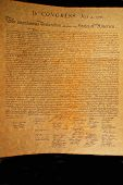 picture of preamble  - Declaration of independence - JPG
