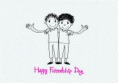 image of  friends forever  - Happy Friendship day background Best Friends Forever - JPG