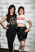 LOS ANGELES - MAR 20:  Perry Reeves, Rose McGowan at the Decades: Les Must De Moschino Event at Deca