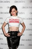 LOS ANGELES - MAR 20:  Rose McGowan at the Decades: Les Must De Moschino Event at Decades Boutique o
