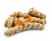 picture of rhizomes  - Turmeric roots - JPG
