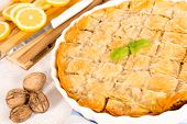 stock photo of baklava  - Traditional Turkis dessert baklava - JPG