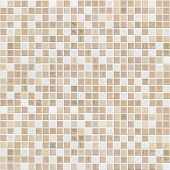 foto of slab  - delicate color brown mosaic tile wall - JPG