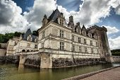 stock photo of chateau  - Chateau de Villandry in Loire Valley in France - JPG