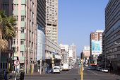 Central Business District In Durban South Africa