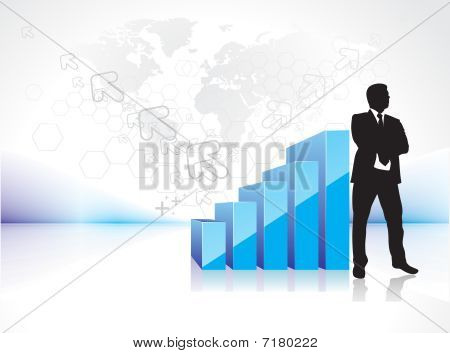 success businessman silhouette