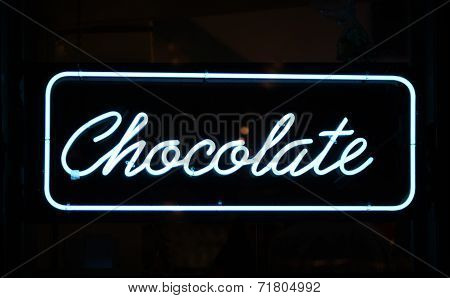 Chocolate Sign