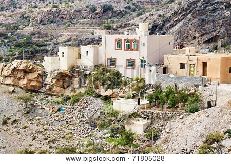 Houses Saiq Plateau