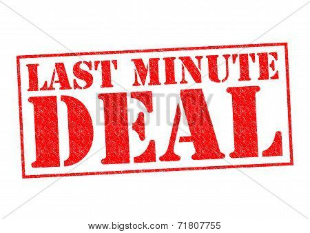 Last Minute Deal