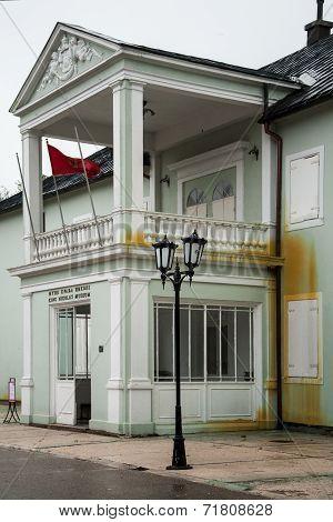 Museum of King Nikola I. in Cetinje, Montenegro