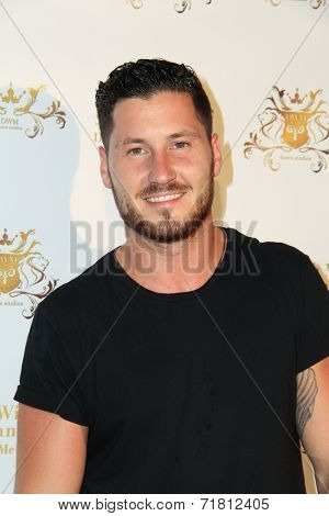 LOS ANGELES - SEP 10:  Val Chmerkovskiy at the Dance With Me USA Grand Opening at Dance With Me Studio on September 10, 2014 in Sherman Oaks, CA