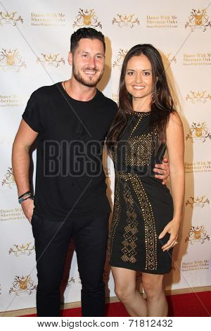 LOS ANGELES - SEP 10:  Valentin Chmerkovskiy, Danica McKellar at the Dance With Me USA Grand Opening at Dance With Me Studio on September 10, 2014 in Sherman Oaks, CA