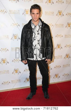 LOS ANGELES - SEP 10:  Casey Moss at the Dance With Me USA Grand Opening at Dance With Me Studio on September 10, 2014 in Sherman Oaks, CA