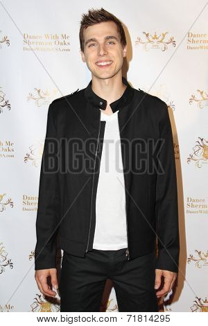 LOS ANGELES - SEP 10:  Cody Linley at the Dance With Me USA Grand Opening at Dance With Me Studio on September 10, 2014 in Sherman Oaks, CA
