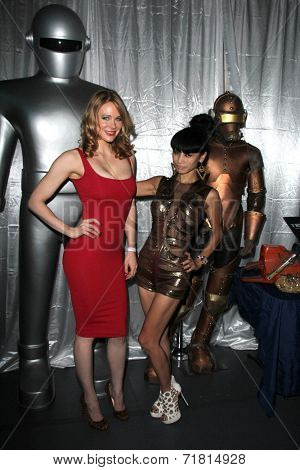 LOS ANGELES - SEP 6:  Maitland Ward, Bai Ling at the Night of Science Fiction, Fantasy & Horror After Party at IATSE Stage 80 on September 6, 2014 in Burbank, CA