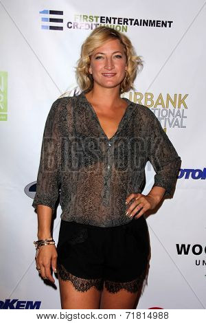 LOS ANGELES - SEP 6:  Zoe Bell at the