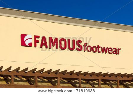 Famous Footwear Store Exterior