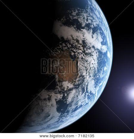 Erde-Modell