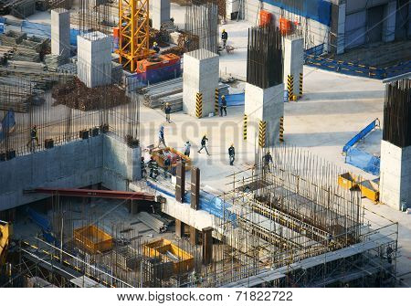Construction Work, Asia City