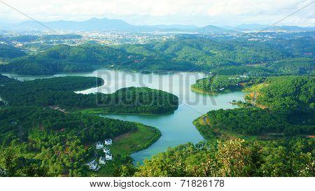 Amazing, Beautiful Panorama, Dalat Travel, Vietnam
