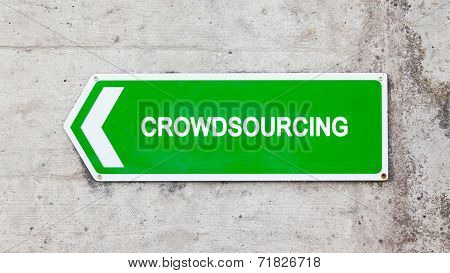 Green Sign - Crowdsourcing